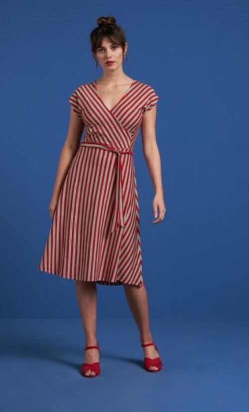 King Louie Mira Dress Rimini Stripe