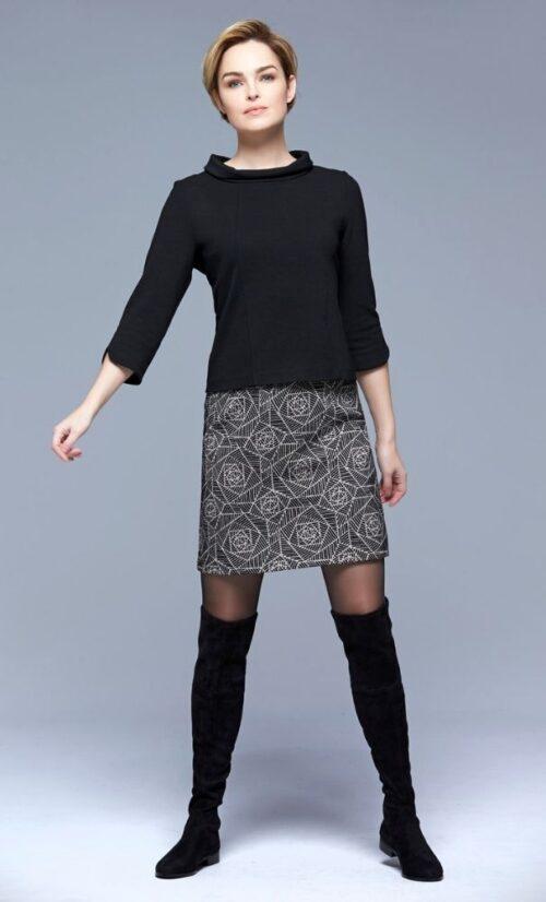 Fox's Ombro Skirt Black