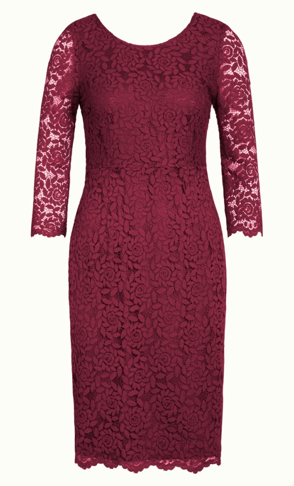 King Louie Gwen Dress Damask