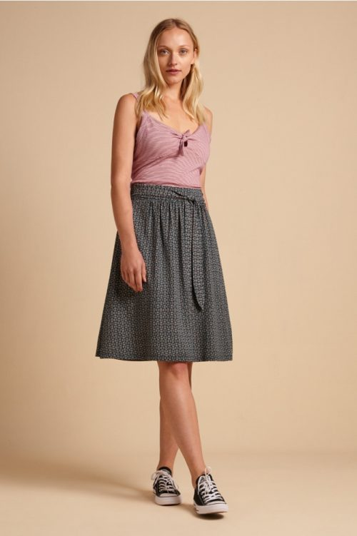 King Louie Gail Skirt Bourbon Dragonfly Green