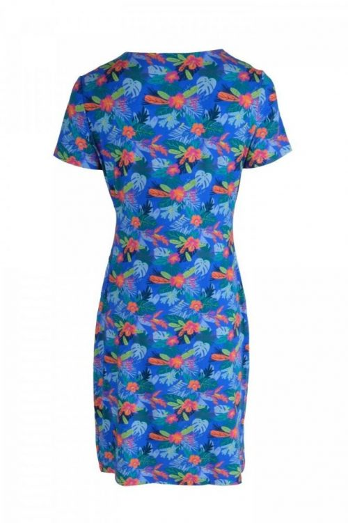 SRNDPTY Dress Katja Tropical Cobalt