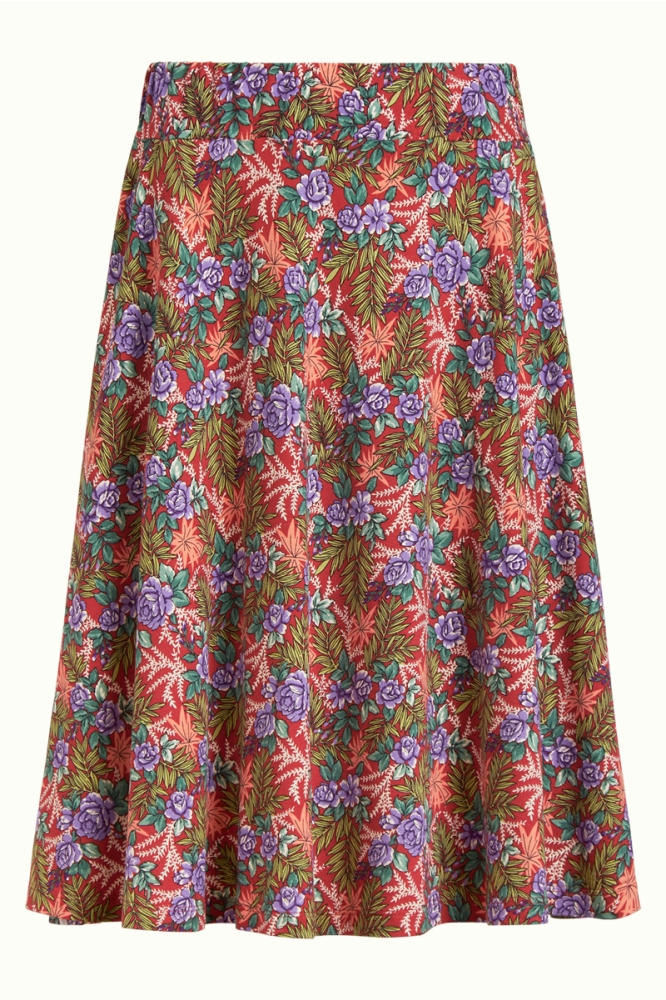 King Louie Serena Skirt Bahama Apple Pink