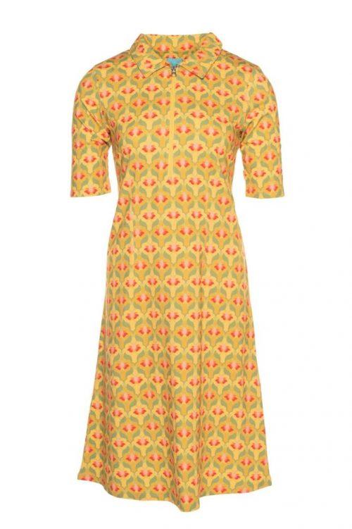 Lalamour Zipper Dress Lotus Yellow