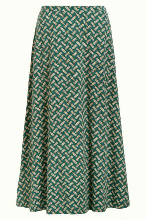 King Louie Juno Skirt Tilia Fir Green