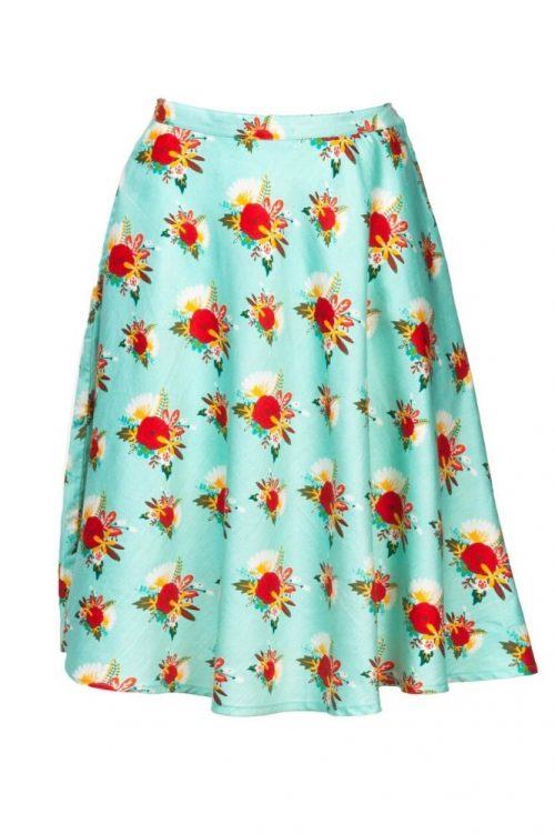 Circus Skirt Vintage Flower