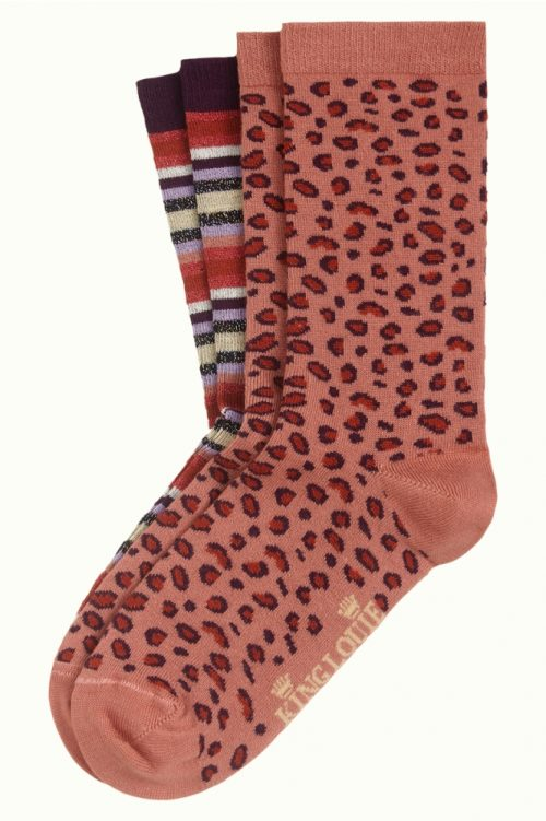 King Louie Socks 2-pack Multi Stripe